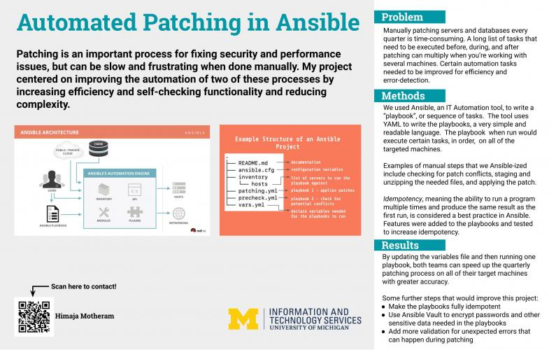 Automated Patching in Ansible Presentation