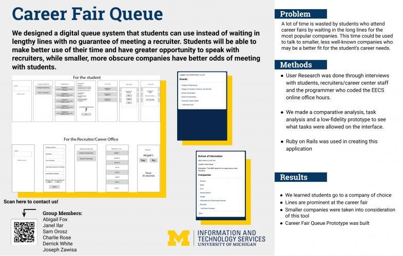 Career Fair Queue Presentation