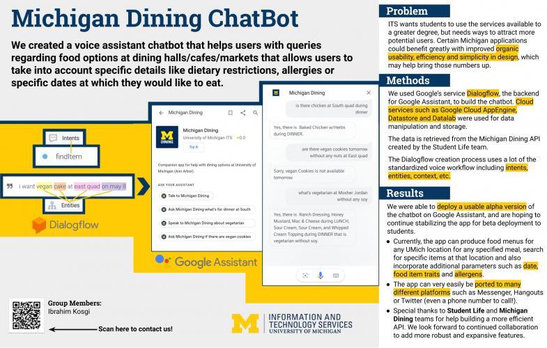 Michigan Dining ChatBot Presentation