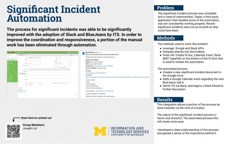 Significant Incident Automation Presentation