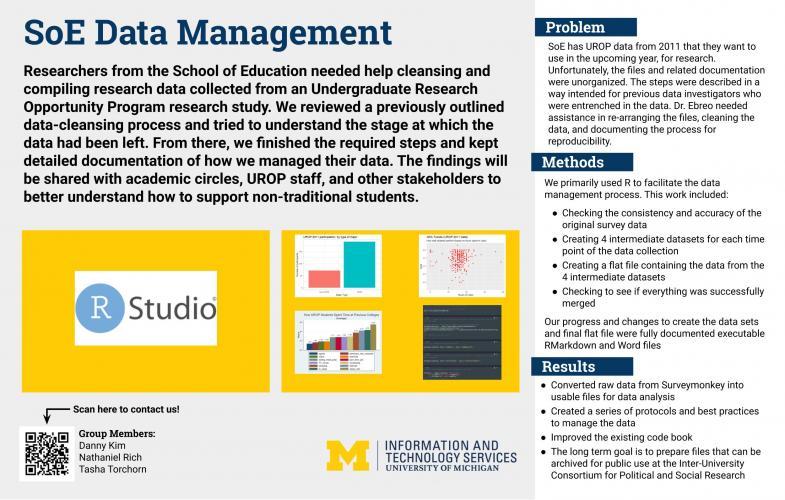 SoE Data Management Presentation