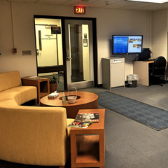 Administrative Services Building collaborative area
