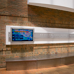 Electrical Engineering and Computer Science Building lobby
