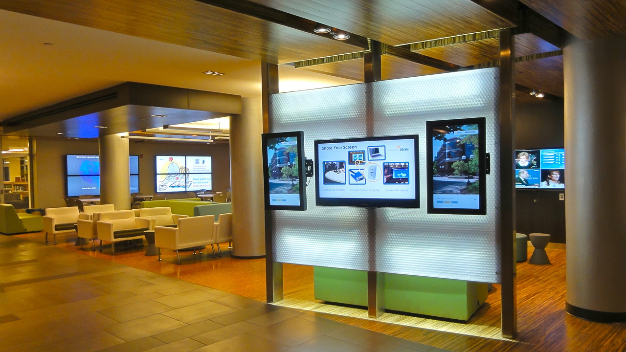 Shared Digital Signage Resources U M Information And