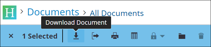 download documents icon