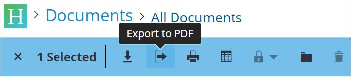 export document icon