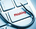 Phishing spelled on a keyboard
